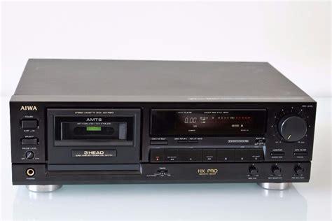 aiwa ad f810 amts 3 cassette deck new belts