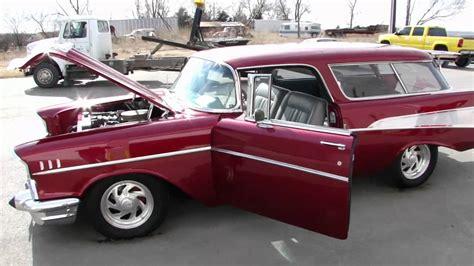 1957 chevy bel air nomad for sale frame restored