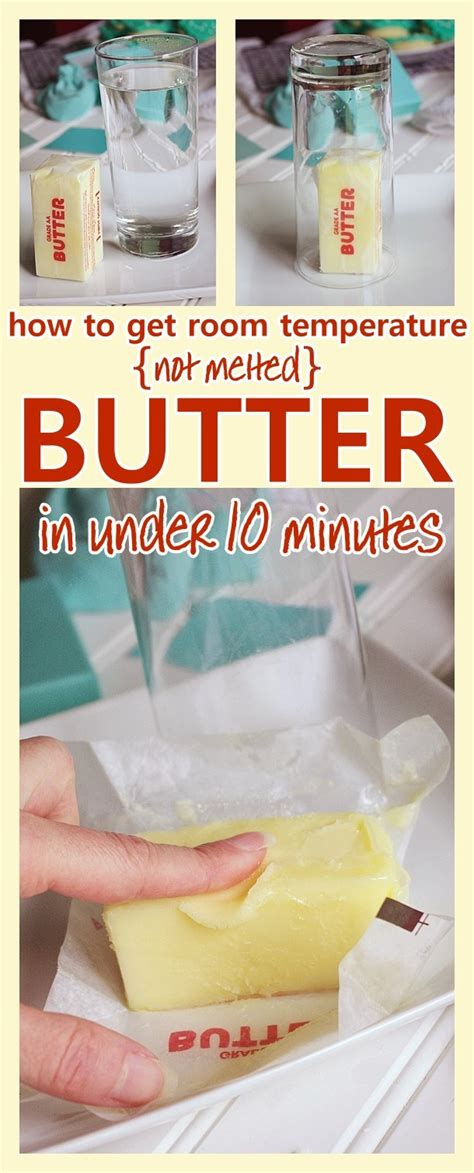how to soften butter how to get softened room temperature not melted butter