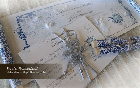 winter themed wedding invitations ideas i do concepts