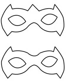 6 best images of easy batman mask printable template