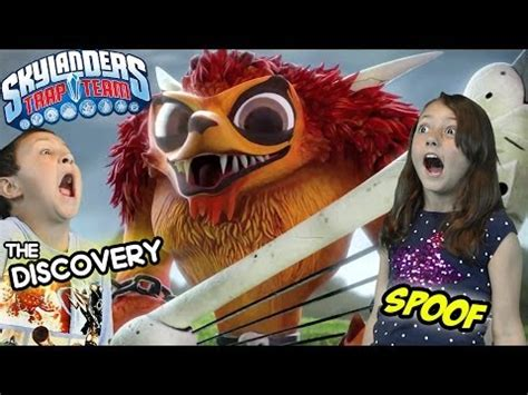 Kaos Discovery Channel skylanders trap team quot the discovery quot trailer official
