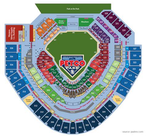 petco park 3d seat viewer padres season tickets partnership