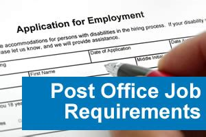 Usps Test And Background Check Post Office Requirements Post Office