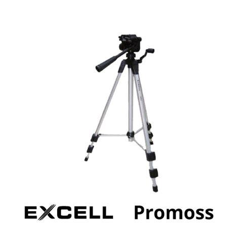 excell promoss tripod harga  spesifikasi