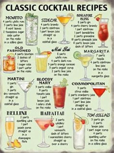 Top 20 Bar Drink Recipes by On 48 Pins