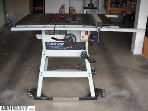 delta table saw for sale armslist for sale delta shopmaster 10 quot table saw