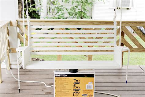 Build Your Own Porch Swing A Beautiful Mess