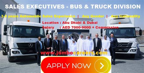 Mba Sales In Dubai by Sales Executive In Automobile Industry And Truck
