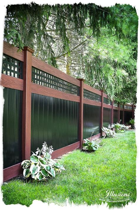 privacy fences for backyards best 25 privacy fence landscaping ideas on pinterest