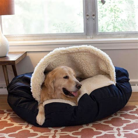 cave dog bed snoozer luxury orthopedic cozy cave 174 dog bed 30 colors