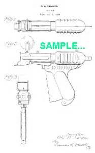 How To Make A Paper Pop Gun - patent 1930s paper pop gun langson guns