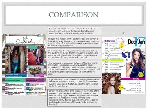 magazine layout evaluation media studies magazine evaluation