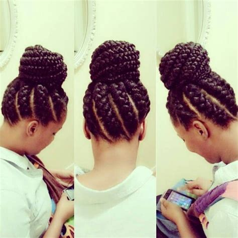 big cornrows updo styles 1000 images about box braids senegalese twists on