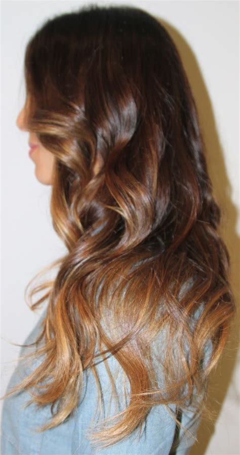 auburn with ombre highlights brunette auburn hair cool chestnut ombre hair with caramel