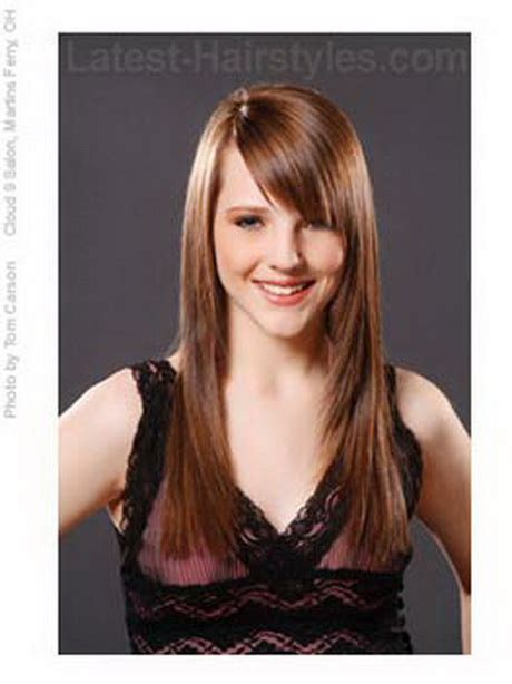fringe haircut for long hair pakistan haircuts for long hair with fringe