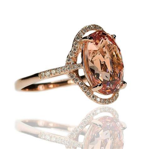 padparadscha sapphire no heat no heat ceylon padparadscha sapphire pink gold ring at 1stdibs
