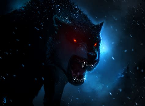 wolf with black wolf by therisingsoul on deviantart