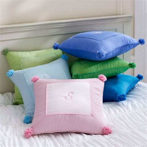 How To Puff Up Pillows by Crinkle Puff Toss Pillow Cover Pbteen