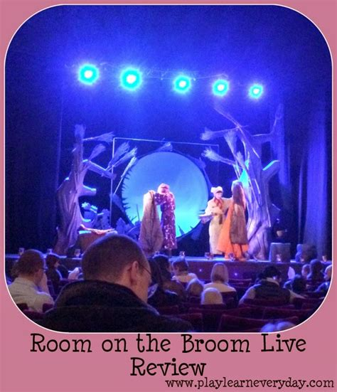 room on a broom live room on the broom live review play and learn every day