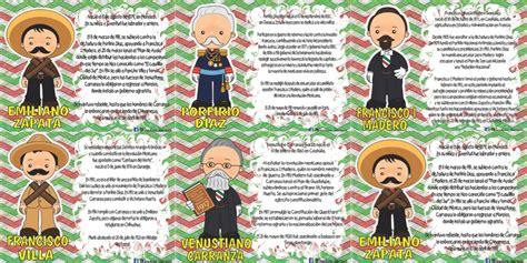 imagenes sobre la revolucion mexicana para niños excelentes biograf 237 as de los personajes de la revoluci 243 n