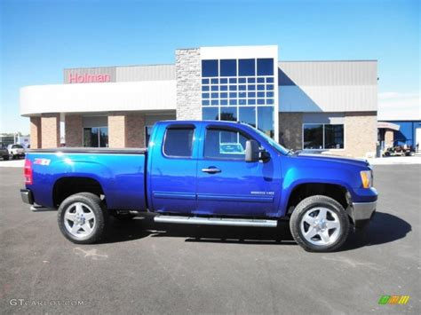 Home Interior Colors For 2014 2013 heritage blue metallic gmc sierra 2500hd sle extended