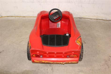 lighting mcqueen power wheels car fisher price power wheels lightning mcqueen electric car