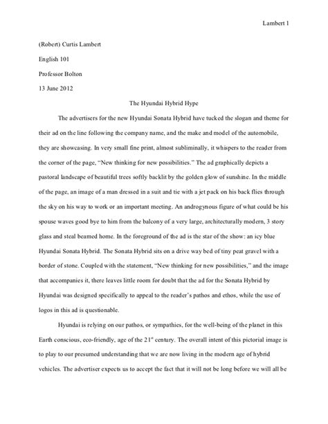 Revised Essay by Revised Essay