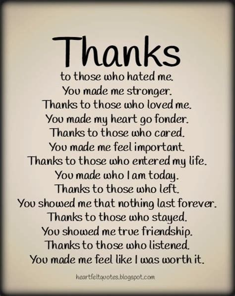 Thanks Quotes Special Thanks Pinteresting Quotes Quotes