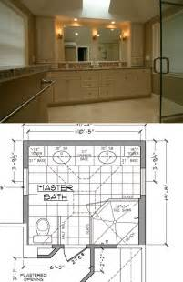 Bathroom Renovation Floor Plans by Four Master Bathroom Remodeling Tips Mgz