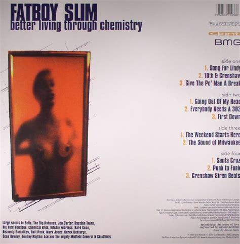 fatboy slim better living through chemistry fatboy slim better living through chemistry 20th