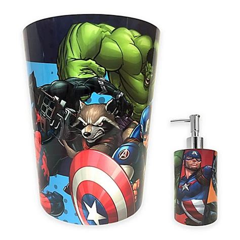marvel bathroom accessories marvel 174 comics bath accessories collection bed bath beyond