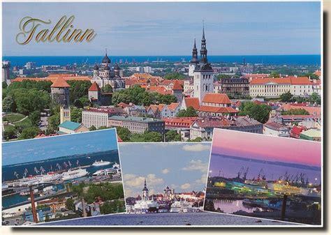 Lpost Or L Post by Une Carte Postale De Tallinn Estonie 2010 01 03