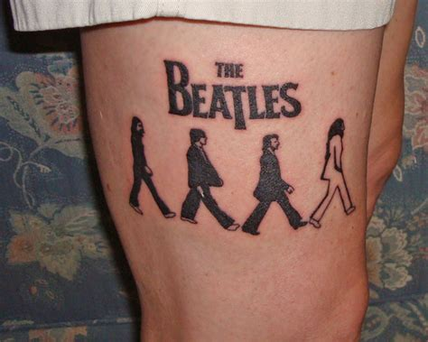 beatles tattoo designs 11 beatles tattoos on sleeve