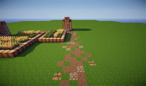 Small House Minecraft What Makes A Plain Road Look Better Sequence Minecraft Blog
