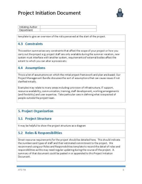 Project Documentation Template 8 Project Documentation Templates Free Sle Exle Format For Project Documentation Template