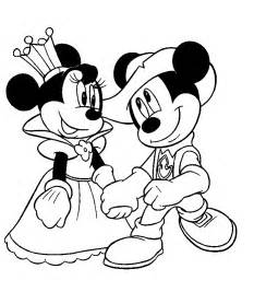 disney love coloring pages mickey and mini in love color gt gt disney coloring pages
