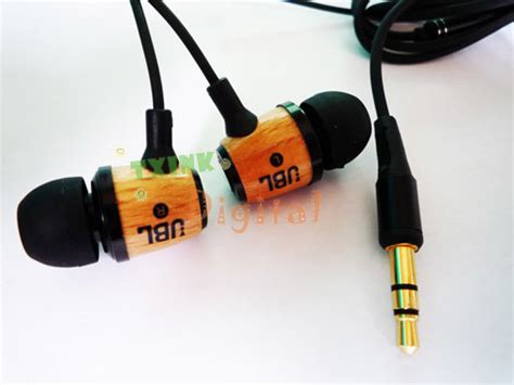 Headset Jbl M330 china wood reference in ear earphone headphone m330 china earphone wood headphone