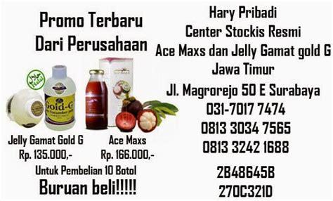 promo ace maxs dan jelly gamat gold g di surabaya