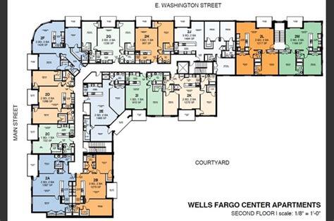 wells fargo center apartments   washington street