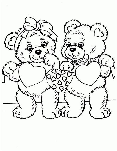 valentine cartoon coloring pages cartoon coloring pages valentine day coloring pages coloringsuite com