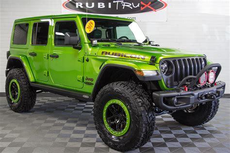 2019 Jeep Unlimited Rubicon by 2019 Jeep Wrangler Rubicon Unlimited Jl Mojito Green