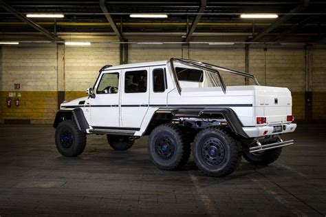 mercedes 6x6 mercedes g63 amg 6x6 tuned to 650 ps by carlsson