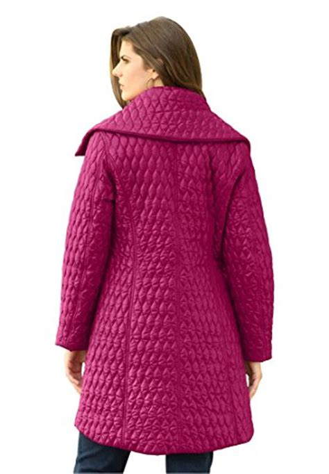 Quilted Plus Size Coats by Fashion Bug Plus Size Jackets Coats Roamans