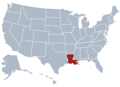 louisiana map capital louisiana state information symbols capital