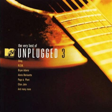 Cd Va Mtv various the best of mtv unplugged 3 cd at discogs