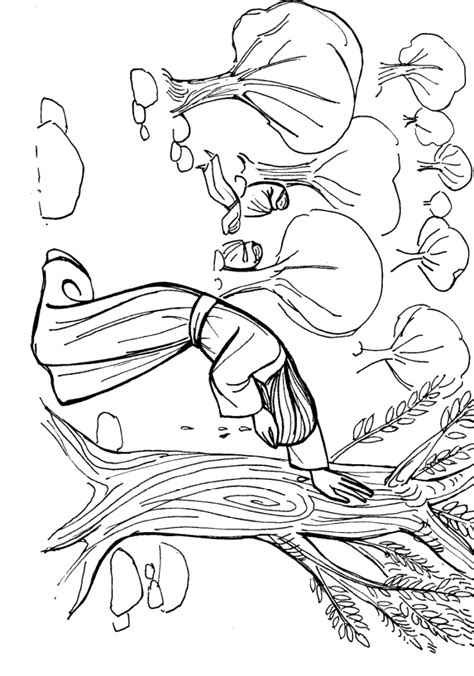 jesus praying garden gethsemane coloring page sketch
