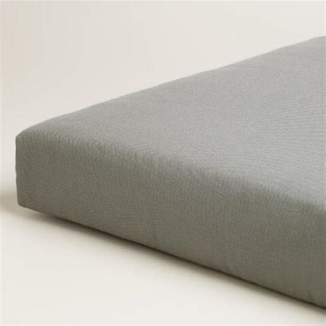 grey bench cushion gray outdoor bench cushion world market