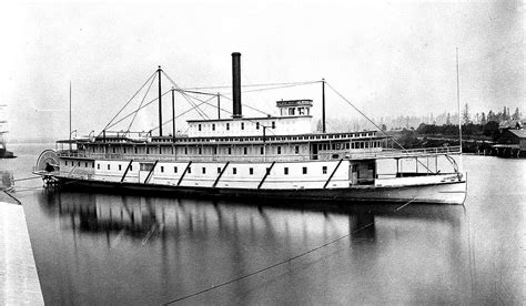 ferry boat portland oregon the sternwheeler wide west shown here was built in