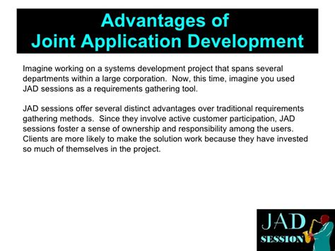 joint application design definition 5 steps to effective jad sessions